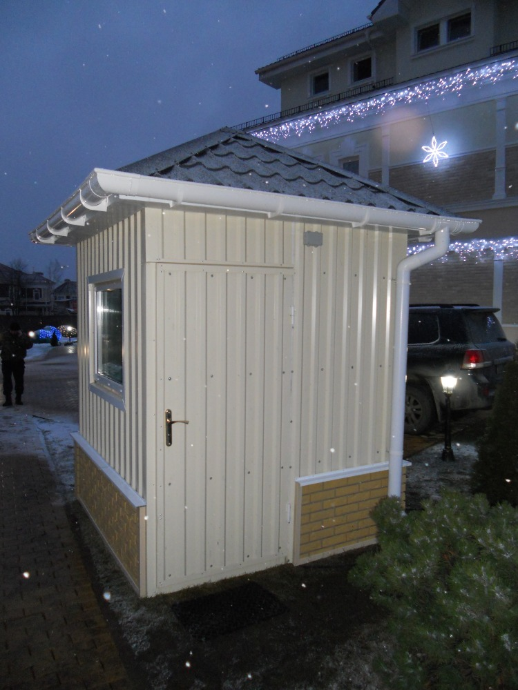 пост охраны для загородного дома